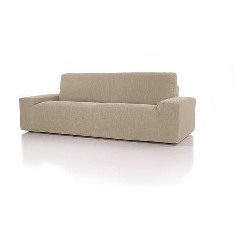 Forbyt, pokrowiec multielastyczny na kanapę cagliari ecru, 220 - 260 cm marki 4home
