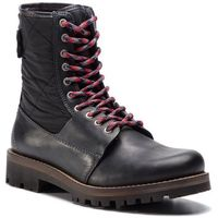 Trapery TOMMY HILFIGER - High Material Mix Winter Boot FM0FM02017 Black 990, w 5 rozmiarach