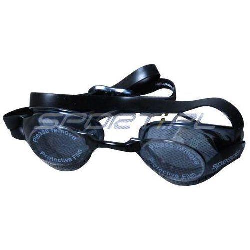 Okulary pływackie Speedo SIDEWINDER smoke 8023113519 (5050995729320)