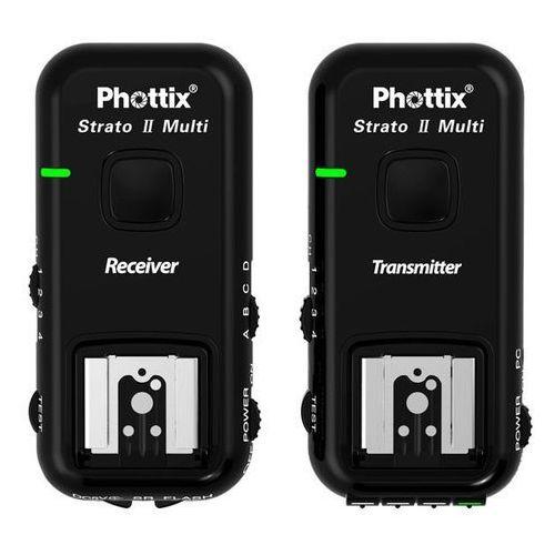 Phottix STRATO II Multi 5w1 wyzwalacz do Nikona (15653) Darmowy odbiór w 19 miastach! (5901054156536)