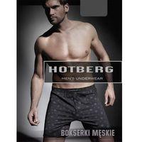 Hotberg Bokserki męskie luz z wzorem