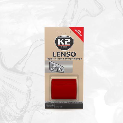 Lenso Czerwone - taśma do napraw reflektorów K2 B342