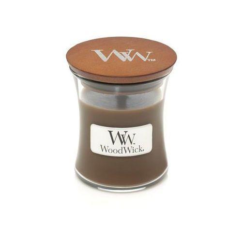 - świeca mała amber & incense 40h marki Woodwick