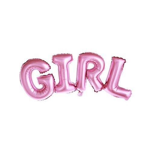 Oms Balon napis foliowy girl różowy (5902230771901)