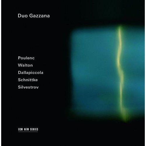 SCHNITTKE/POULENC/SILVESTROV/WALTON/DALLAPICCOLA - Duo Gazzana (Płyta CD)
