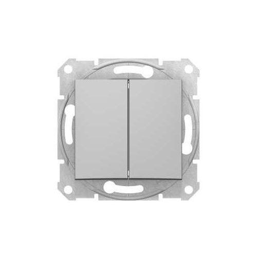 Przycisk chwilowy podwójny sedna sdn1100160 aluminium marki Schneider