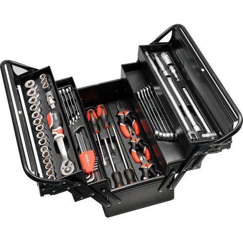 Zestaw narzędzi YATO YT-3895 ze skrzynką (62 elementy) + DARMOWY TRANSPORT! z kategorii Zestawy narzędzi ręcznych