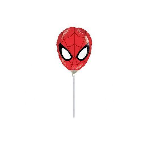 Balon foliowy do patyka Spiderman - 1 szt.