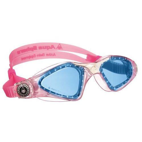 Aquasphere okulary kayenne junior niebieskie szkła, pink-white marki Aqua sphere