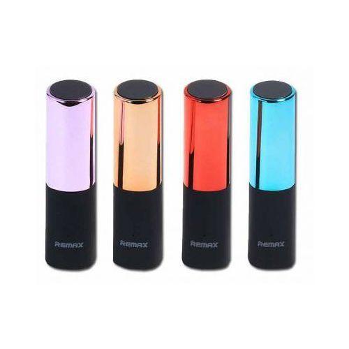 Bateria Zewnętrzna Power Bank REMAX szminka RPL-12 2400mAh (6954851236603)