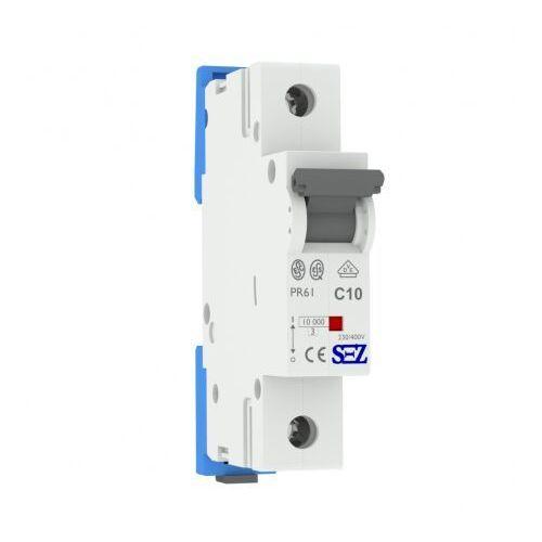 C10A 1P 10kA Wyłącznik nadprądowy bezpiecznik Typ S eska PR61 SEZ 1071