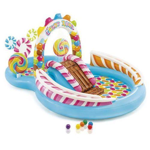 ® basen/plac zabaw- cukierki ze zjeżdżalnią i spryskiwaczem marki Intex