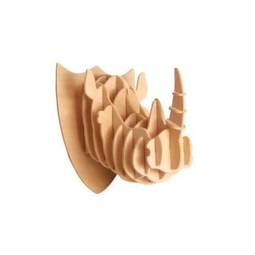 Łamigłówka drewniana Gepetto - Głowa nosorożca (Rinoceros head) - SZYBKA WYSYŁKA (od 49 zł gratis!) / ODBIÓR: ŁOMIANKI k. Warszawy