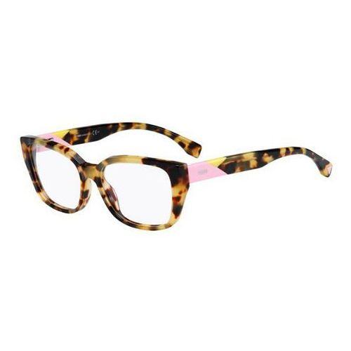 Okulary korekcyjne  ff 0169 facets 00f, marki Fendi