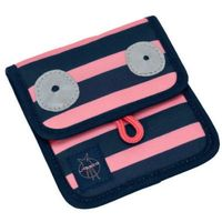 LÄSSIG 4Kids Portfel na szyję Mini Neck Pouch Little Monsters - Mad Mabel (4042183346410)