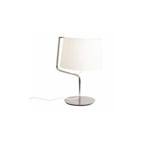 MAXlight Chicago T0030 Lampa stołowa lampka 1x100W E27 chrom / biała