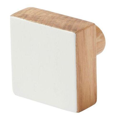 Cooke&lewis Wieszaczek drewniany nantua biały