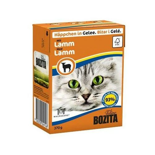 cat chunks kawałeczki mięsne w galaretce 370g - jagnięcina marki Bozita