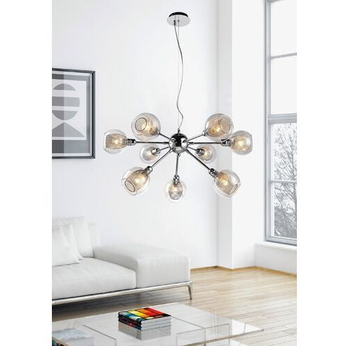 Lampa wisząca zwis Candellux Dixi 9x40W E14 chrom 39-65018, 39-65018
