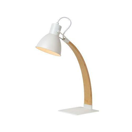 Lucide 03613/01/31 - lampa stołowa curf 1xe27/60w/230v biała (5411212030740)