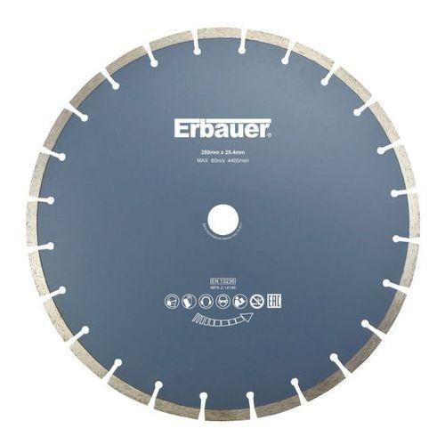 Erbauer Tarcza diamentowa segmentowa 350 x 25 4 mm