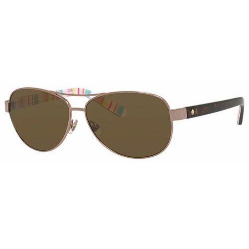 Okulary słoneczne dalia 2/p/s polarized 0rnf vw marki Kate spade