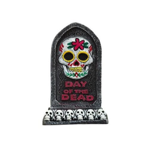 Nagrobek z czachą day of the dead - 13x8 cm marki Guirca