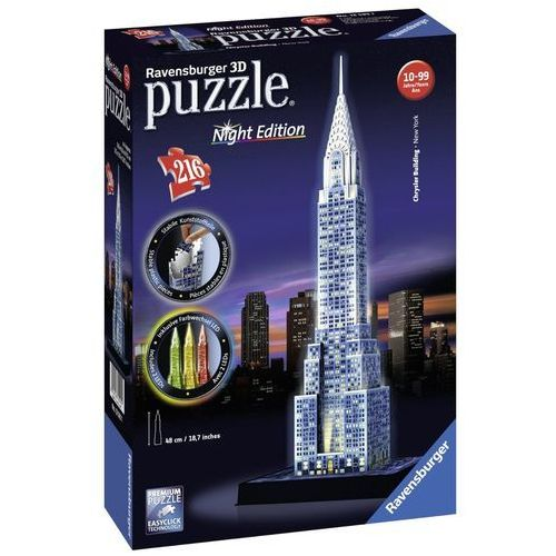 PUZZLE 3D 216 EL. CHRYSLER BUILDING NIGHT EDITION
