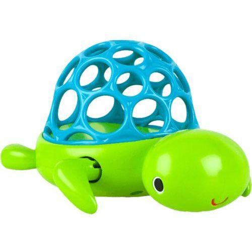 BRIGHT STARTS Zabawka żółwik Oball H2O Wind 'n Swim Turtle™ 6m+ ()