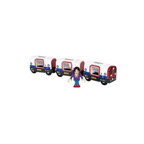 Brio world - metro train (7312350338676)
