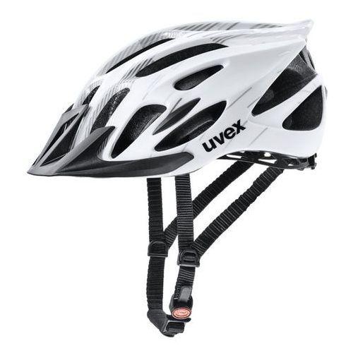 Kask rowerowy flash m 53-56 cm biały/czarny marki Uvex
