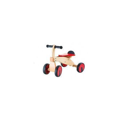 Jeździk drewniany dla Dzieci - czterokołowy, 10233