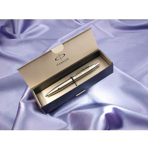 Grawernia.pl - grawerowanie i wycinanie laserem Długopis parker im brushed metal ct