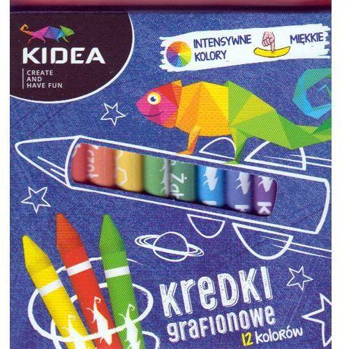 Derform Kredki grafionowe 12 kolorów