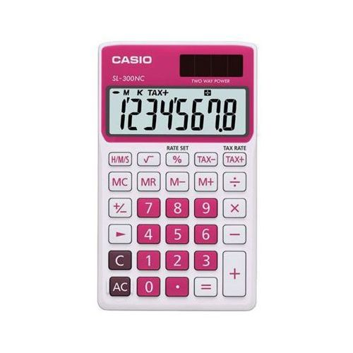 Casio Kalkulator  sl-300nc-rd-s-eh (4971850087366)