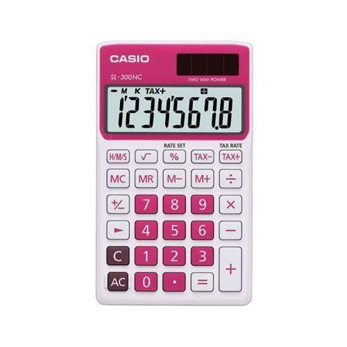 Kalkulator  sl-300nc-rd-s-eh marki Casio