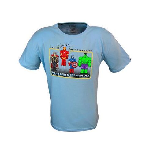 Koszulka marvel avengers assembly vintage game xl - darmowa dostawa kiosk ruchu marki Good loot