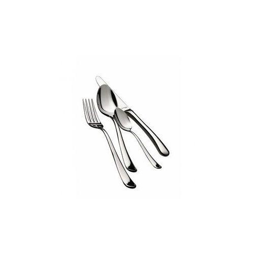 Casa bugatti 24 częściowy zestaw obiadowy 39x27x5 cm settimocielo srebrny