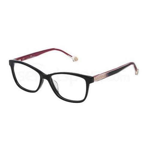 Okulary korekcyjne vhe723 700y marki Carolina herrera