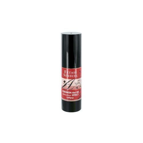 Olejek do masażu z feromonami - o zapachu słodkiego lizaka feromon hot oil lollipop marki Extase sensuel