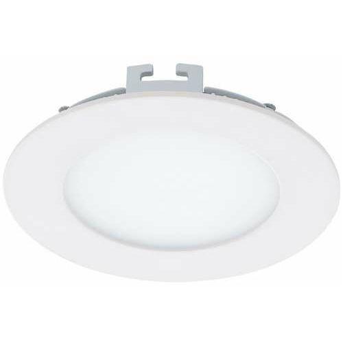 Plafon lampa oprawa wpuszczana downlight oczko Eglo Fueva 1 1x5,5W LED biały okr.94048