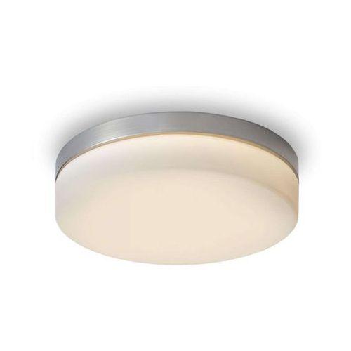 AWE 33 sufitowa szkło opalowe/nikiel mat 230V LED 20W IP44 3000K, REDLUX R12197