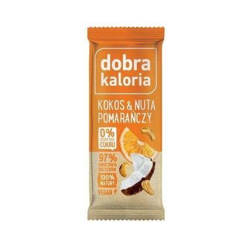 Baton owocowy kokos & nata pomarańczy 35g - Dobra Kaloria (5903548001988)