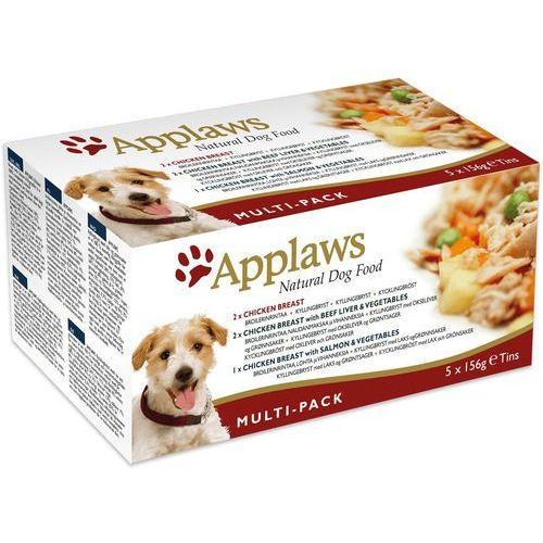 natural dog mix smaków multi-pack 5x156g marki Applaws