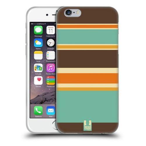 Etui silikonowe na telefon - Stripes ORANGE AND BROWN - sprawdź w wybranym sklepie