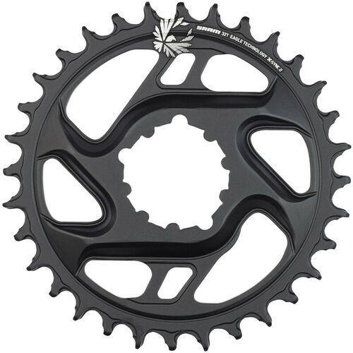 Sram x-sync eagle cf zębatka rowerowa 6mm 12 rz. czarny 34t 2018 zębatki przednie (0710845808562)