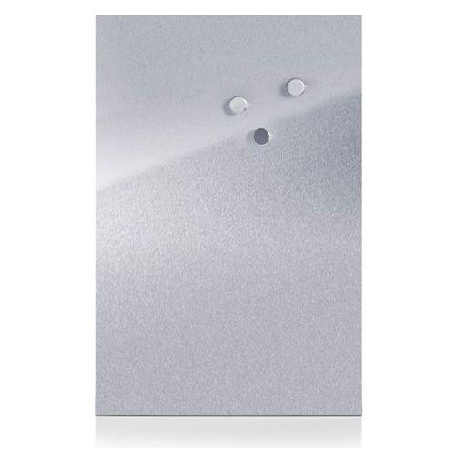 Metalowa tablica magnetyczna MEMO + 3 magnesy, 60x40 cm, ZELLER, B001OQ9BUO