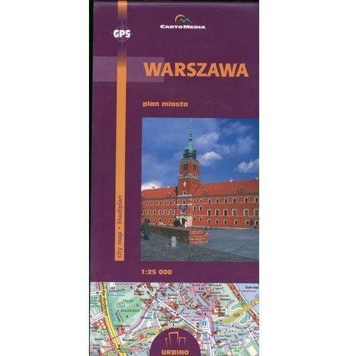 Warszawa Plan miasta 1:25 000, CartoMedia