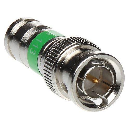Wtyk kompresyjny profesjonalny bnc pct-bnc-6 na przewód koncentryczny marki Import