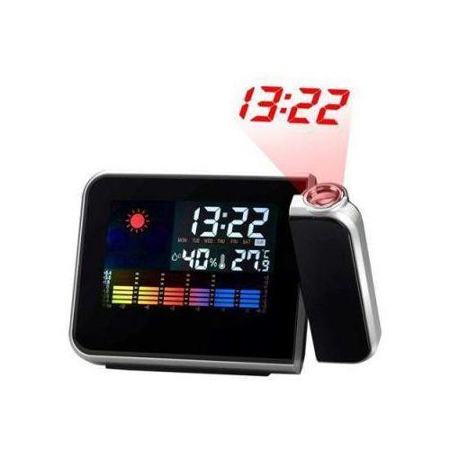 Fda Stacja pogody + zegar + laserowy projektor godziny.